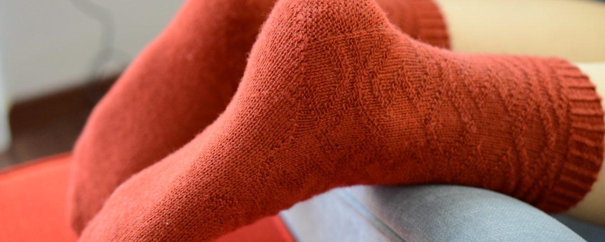 Alane socks by Zsuzsanna Orthodoxou