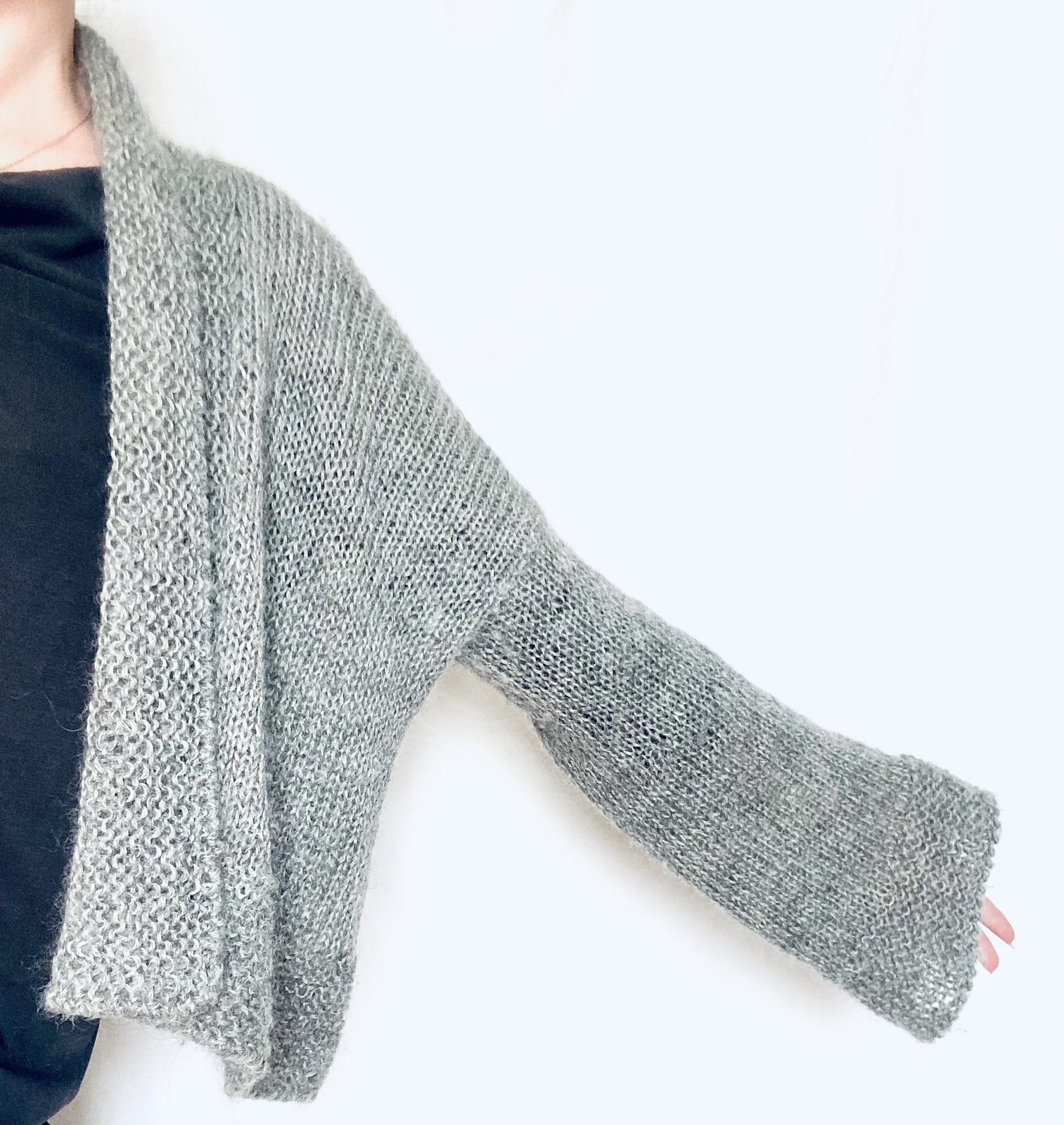 Luv Cardigan by Meret Buetzberger