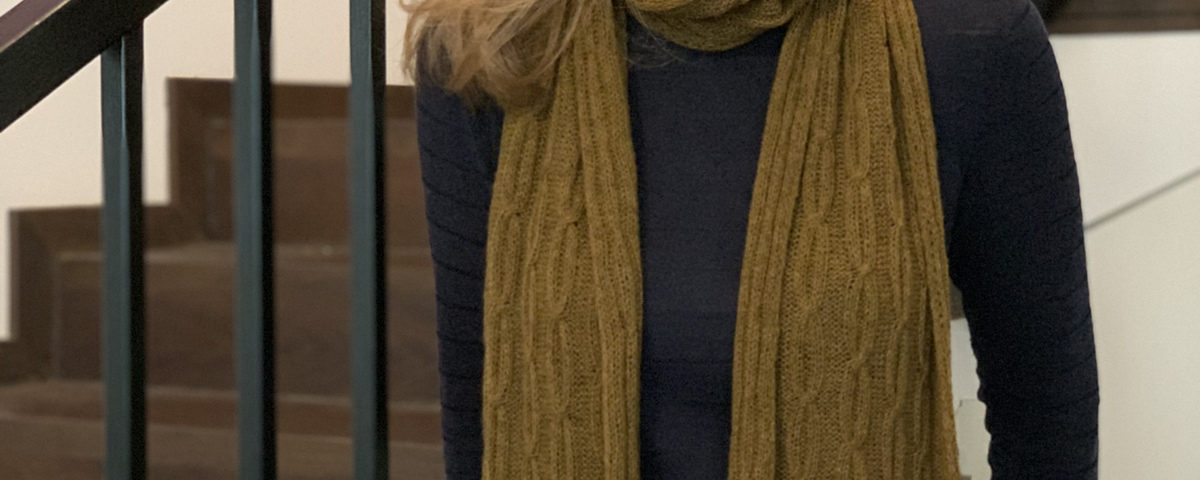 Thea Scarf by Zsuzsanna Orthodoxou